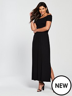 v-by-very-sheered-body-jersey-maxi-dress-black