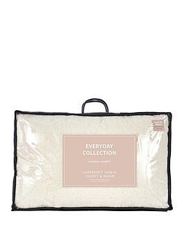 everyday-collection-nbspsuper-soft-teddy-fleece-pillow-pair