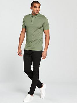 Very Smart Collar Polo Woven V by Manchester For Sale Outlet Store Manchester Great Sale Cheap Price Sale Release Dates mTEVICoXu