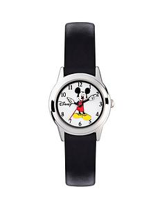 mickey-mouse-mickey-mouse-silver-case-black-strap-watch