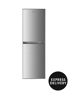 swan-sr8160s-172cm-highnbsp55cm-wide-5050-split-fridge-freezer-stainless-steel-effect-with-express-delivery
