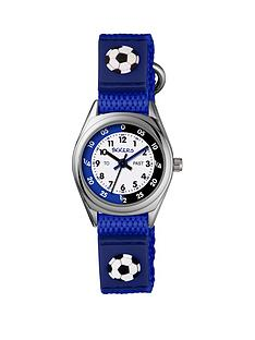 tikkers-tikkers-velcro-strap-football-kids-watch-blue