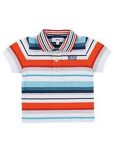 boss-baby-boy-stripe-short-sleeve-polo