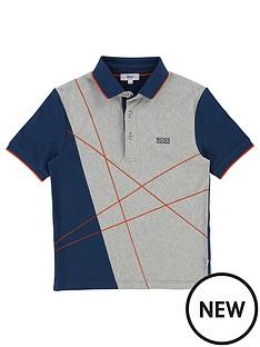 boss-boys-short-sleeve-graphic-polo