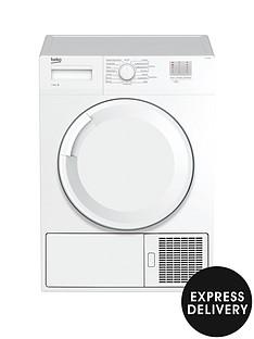 beko-dtgc8000w-8kg-fullsizenbspcondenser-sensor-tumble-dryernbspwith-express-delivery