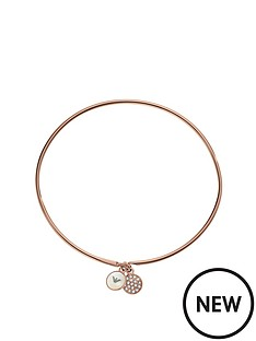 emporio-armani-ladies-rose-gold-tone-double-disc-bracelet