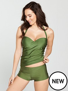 v-by-very-shapewear-underwired-tankini-top-khaki