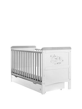 winnie-the-pooh-winnie-the-pooh-deluxe-cot-bed-withnbspunder-drawer-storage-dreams-amp-wishes