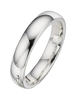 the-love-silver-collection-ladies-4-mm-argentium-silver-wedding-band
