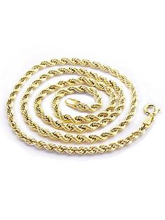 love-gold-9-carat-yellow-gold-rope-chain
