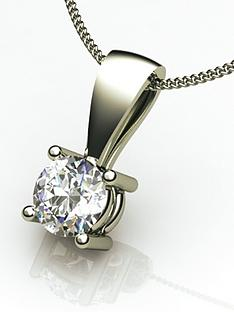 moissanite-18-carat-white-gold-50-point-solitaire-pendant