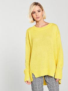 river-island-mohair-jumper--yellow
