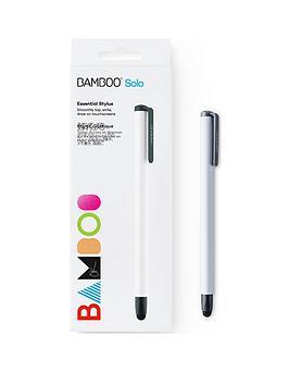 wacom-bamboo-gen-4-solo-stylus-for-kindle-fire-ipad-pro-ipadipad-mini-windows-tablet-and-samsung-galaxy-white