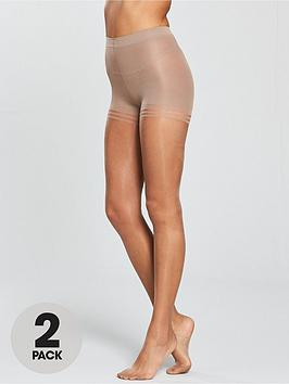 10 Denier Gloss Secret Slimmer Tights - Sherry Pretty Polly Cheap Shop Aberdeen Fast Shipping Free Shipping Professional 1RvD8TR8