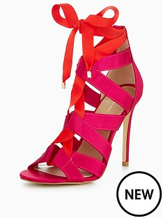 v-by-very-lulu-tie-detail-heel-sandal-pinkred