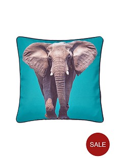 catherine-lansfield-elephant-cushion