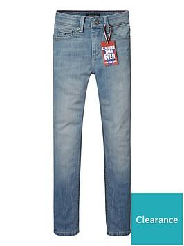 7b2bb79d Tommy Hilfiger Boys Scanton Slim Fit Jeans | littlewoodsireland.ie
