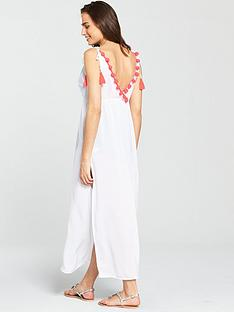 v-by-very-pom-pom-back-beach-maxi-dress