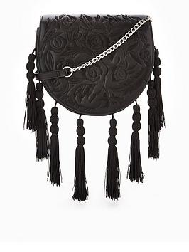 Cheap Footlocker Buy Cheap Pictures by Tassel Embroidered V Bag Very Crossbody Free Shipping New Arrival UQdO56
