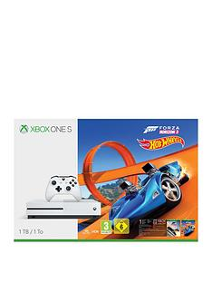 xbox-one-s-1tb-console-with-forza-horizon-3-hot-wheelsnbsp-wireless-controller-and-12-months-live