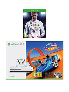 xbox-one-s-1tbnbspconsole-with-forza-horizon-3-hot-wheels-and-fifanbsp18nbspplusnbspoptional-extra-controller-andor-xbox-live