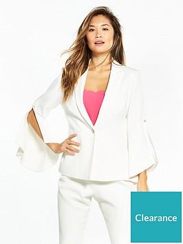 ted-baker-lalya-pearl-detail-bell-sleeve-suit-blazer