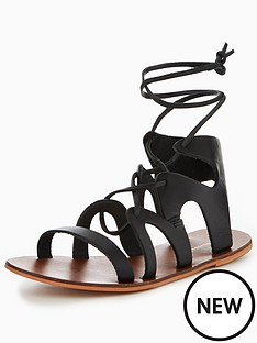 warehouse-leather-gladiator-sandal