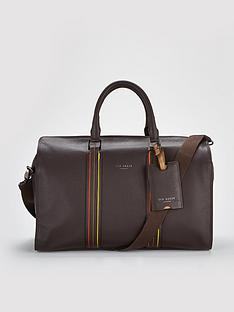 ted-baker-striped-detail-holdall
