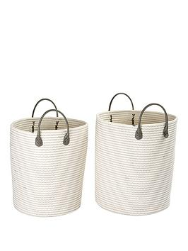 set-of-2-handled-cotton-rope-baskets