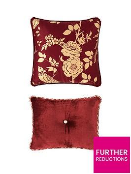laurence-llewelyn-bowen-royal-rose-garden-cushionnbsppair