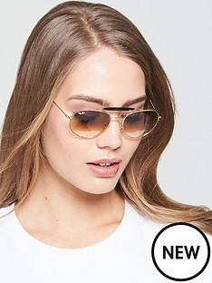 ray-ban-brow-bar-sunglasses-tortoiseshell