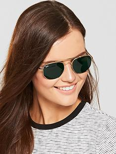 ray-ban-thenbspmarshal-squarenbspsunglasses-gold