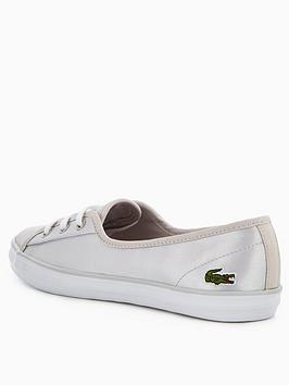 nbsp  Lacoste Chunky Ziane Silver Discount Excellent Ebay Cheap Online Clearance Extremely Free Shipping How Much R4ieO5