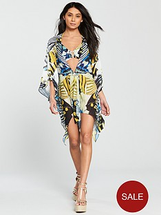 forever-unique-rose-butterfly-print-cover-up