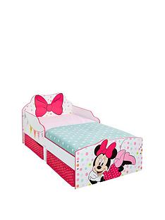 minnie-mouse-minnie-mouse-toddler-bed-with-underbed-storage-by-hellohome