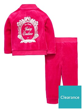 juicy-couture-baby-girls-velour-floral-mirror-cameo-bomber-set