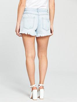 100 Guaranteed  Very Acid PETITE Short Wash V Denim by Embroidered Petite Outlet Geniue Stockist Cost AG5Ew