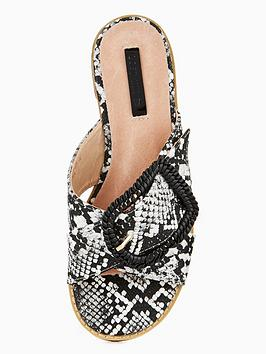 Shop Sale Online Buckle Ink Sandal  Black Lost Covered Amazing Price Clearance Release Dates FopjwR