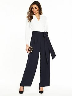 phase-eight-betina-jumpsuit-ivorynavy