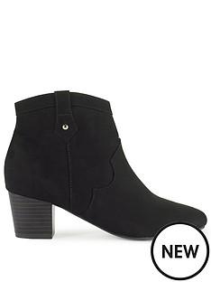 miss-selfridge-western-ankle-boot