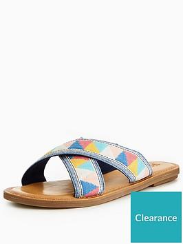 e393215d68a6bd Toms Viv Cross Slide Sandal