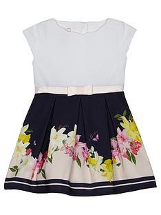baker-by-ted-baker-baby-girls039-navy-floral-print-mock-dress