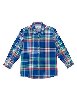 baker-by-ted-baker-boys039-multi-coloured-checked-shirt