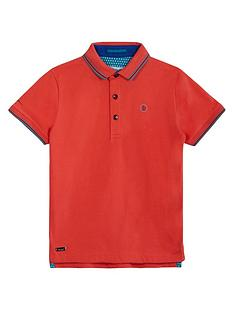 baker-by-ted-baker-boys039-orange-tipped-polo-shirt