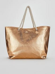 v-by-very-metallic-beach-bag-rose-gold