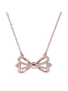 ted-baker-haven-ornate-pave-rose-bow-necklace