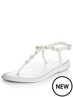 20ec0384b3c3 Miss KG Ricky Pearl Jelly Shoe - White