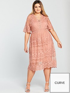 v-by-very-curve-mesh-embroidered-midi-dress
