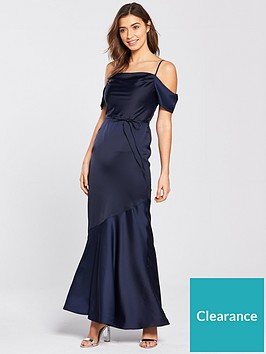 b5ed4c7d18e Oasis Amy Slinky Cowl Neck Maxi Dress