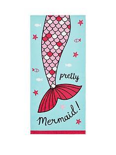 catherine-lansfield-mermaid-beach-towel